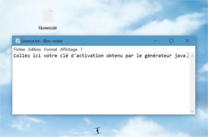 """[Tuto] Créer son fichier """"Licence"""" pour l'activation des cartes Tuto-licence-04"""