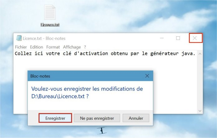 """[Tuto] Créer son fichier """"Licence"""" pour l'activation des cartes Tuto-licence-05"""